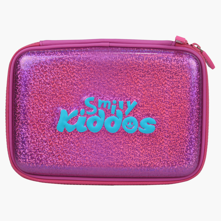 Smily Kiddos Sparkle Embellished Hardtop Pencil Box