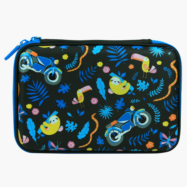 Smily Kiddos Scented and Embossed Hardtop Pencil Box