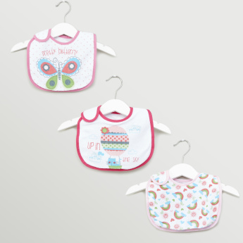 Hudson Baby Printed Bandana Bibs - Set of 3