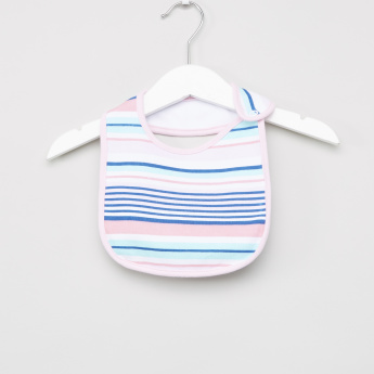 Little Treasure Printed Cotton Bibs - Set of 5