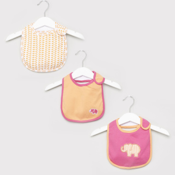 Luvable Friends 3-Piece Printed Bibs