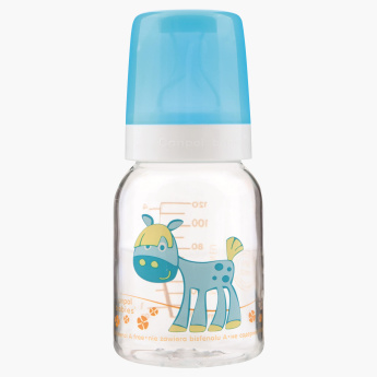 Canpol Babies Happy Animal Printed Baby Bottle - 120 ml