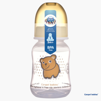 Canpol Babies Happy Garden Design Baby Bottle - 120 ml