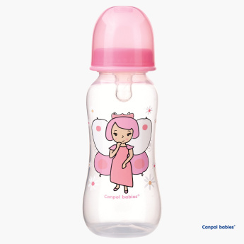 Canpol Babies Happy Dream Fairy Print Feeding Bottle - 240 ml