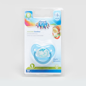 Canpol Babies Printed Anatomical Silicone Pacifier