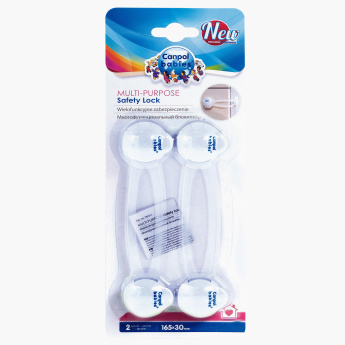 Canpol Babies Multi-Purpose Safety Lock - Set of 2
