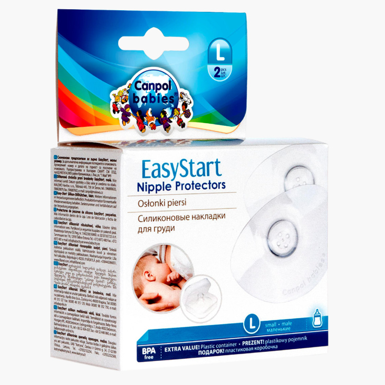 Canpol Babies Easy Start Nipple Protector - Set of 2