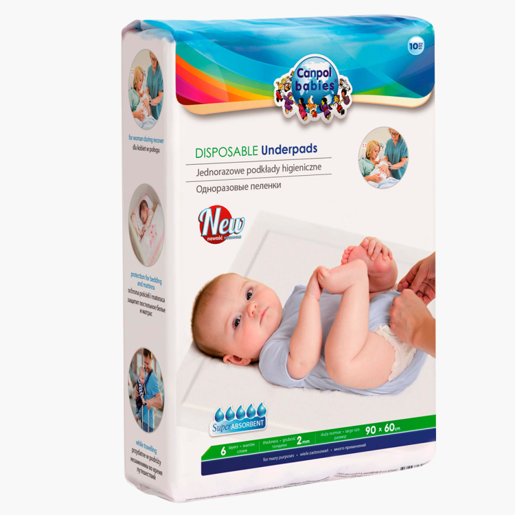 Canpol Babies Disposable Baby Underpads