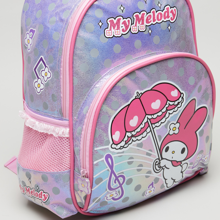 Sanrio My Melody Printed Backpack - 14 inches