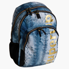 DIS2 Graphic Printed Backpack with Pencil Case - 18 inches