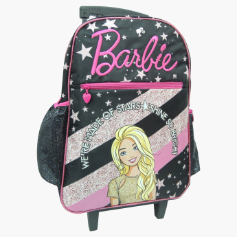 Barbie Logo Embroidered Trolley Bag - 16 inches