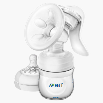 Avent Breast Pump Manual Natural Range - Bundle Offer