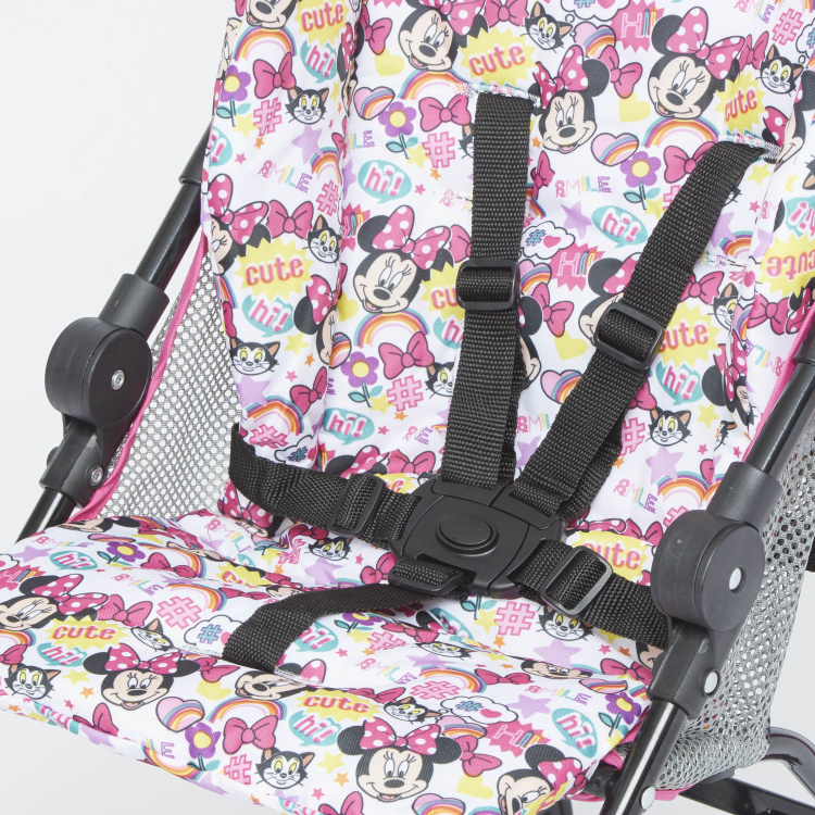 Disney Minnie Mouse Printed Baby Stroller