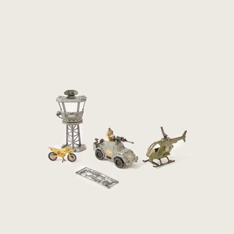 Soldier Force Defence Outpost Playset