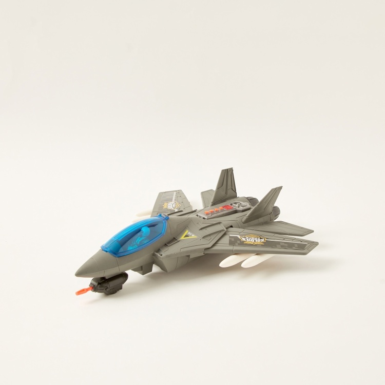 Soldier Force Air Hawk Attack Plane Playset
