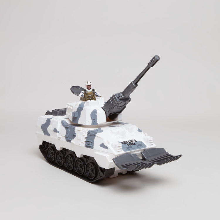 Soldier Force Desert Tank Playset