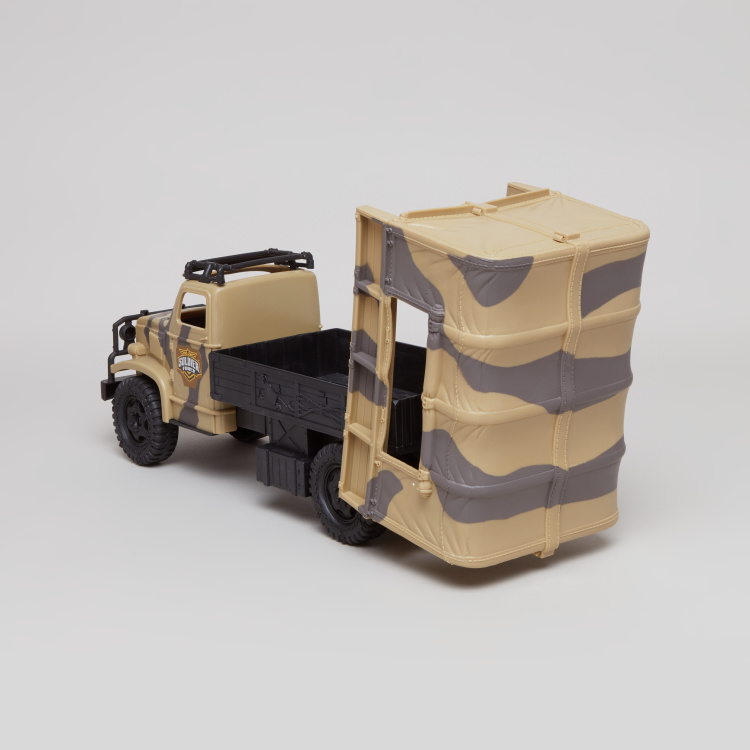 Soldier Force Trooper Truck Playset