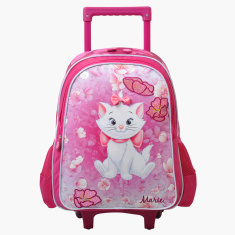 Marie Printed Trolley Bag - 16 inches
