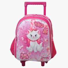 Marie Printed Trolley Bag - 14 inches