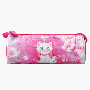 Marie Printed Pencil Case with Zip Closure