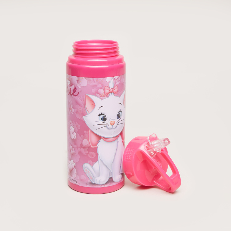 Disney Marie Print Metal Water Bottle