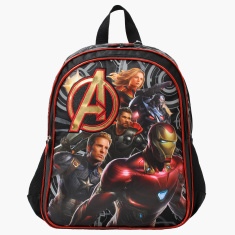 Marvel Avengers Printed Backpack - 14 inches