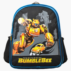 Hasbro Transformers Printed Backpack - 14 inches