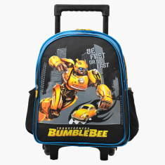 Hasbro Transformers Printed Trolley Bag - 14 inches