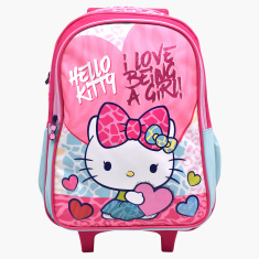 Sanrio Hello Kitty Printed Trolley Bag - 18 inches