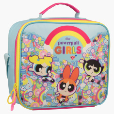 The Powerpuff Girls Printed Insulated Lunch Tote Bag