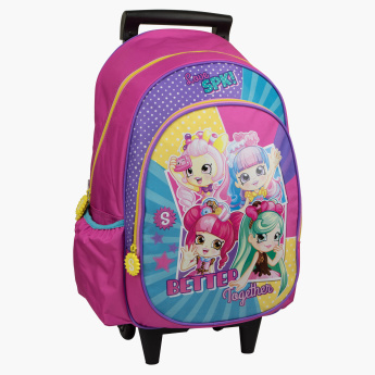 Moose Shopkins Printed Trolley Bag - 18 inches