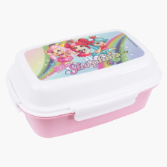 Shopkins Printed Lunchbox with Clip Closure