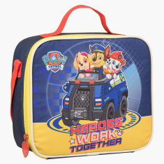 Paw Patrol Printed Insulated Lunch Bag with Adjustable Strap