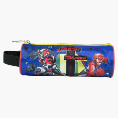Saban Printed Cylindrical Pencil Case with Strap