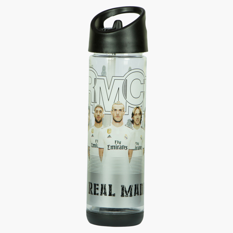 Real Madrid Printed Water Bottle - 500 ml