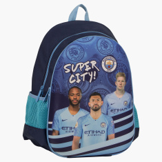 Manchester City Printed Backpack - 16 inches