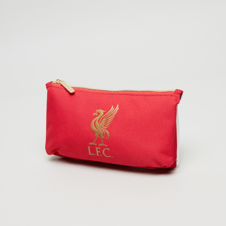 Liverpool Football Club Printed Double Compartment Pencil Case