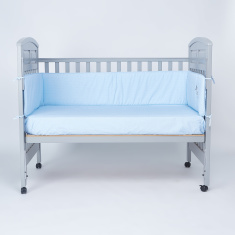 Cambrass Printed Cot Bumper with Tie Ups