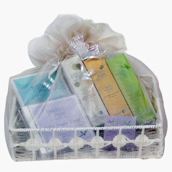 Tiddley Pom 6-Piece Baby Massage Gift Set
