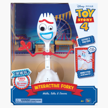 Toy Story 4 Forky Interactive Action Figure - 10 inches