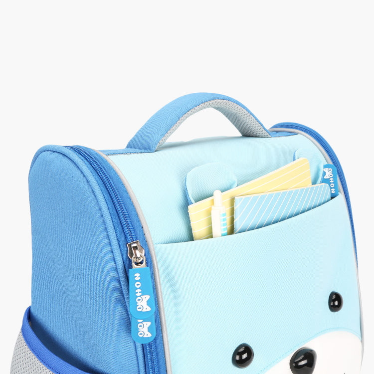 Nohoo Bear Shaped School Bag