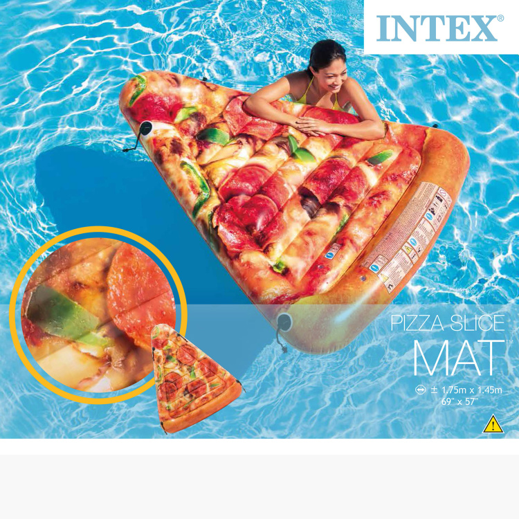 Intex Inflatable Pizza Slice Mat