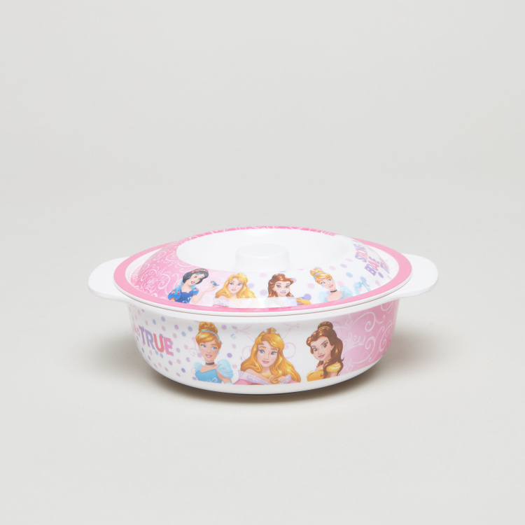 Disney Princess Printed Bowl with Lid