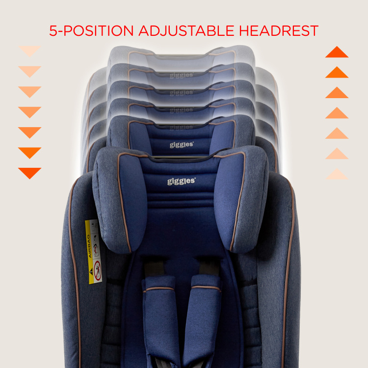 Giggles Originfix Group Isofix Car Seat