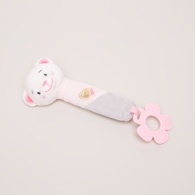 Giggles Plush Teething Toy