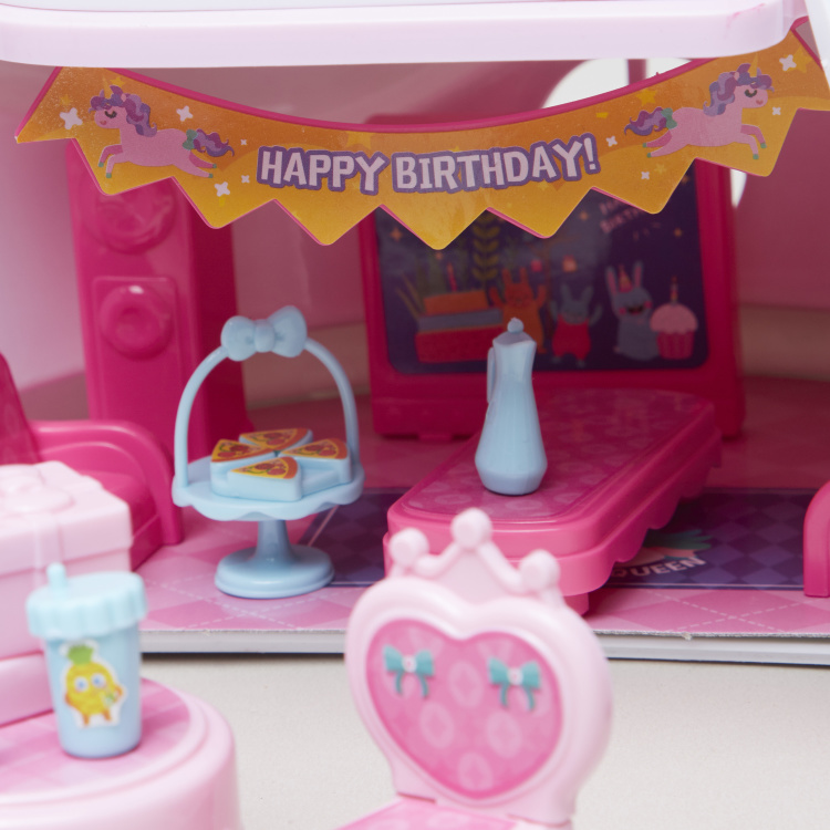 Birthday Party Play House Playset