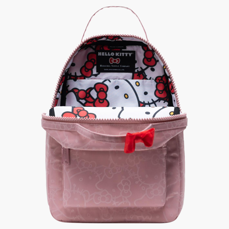 Herschel Hello Kitty Printed Backpack with Adjustable Straps