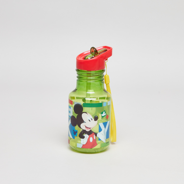 Disney Mickey Mouse Printed Water Bottle - 370 ml