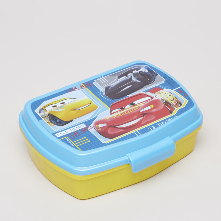 Disney Cars Printed Sandwich Box
