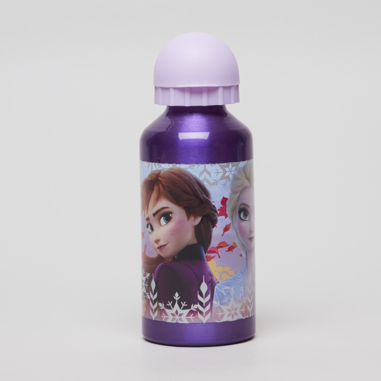Anna Printed Water Bottle with Push Pull Lid - 400 ml